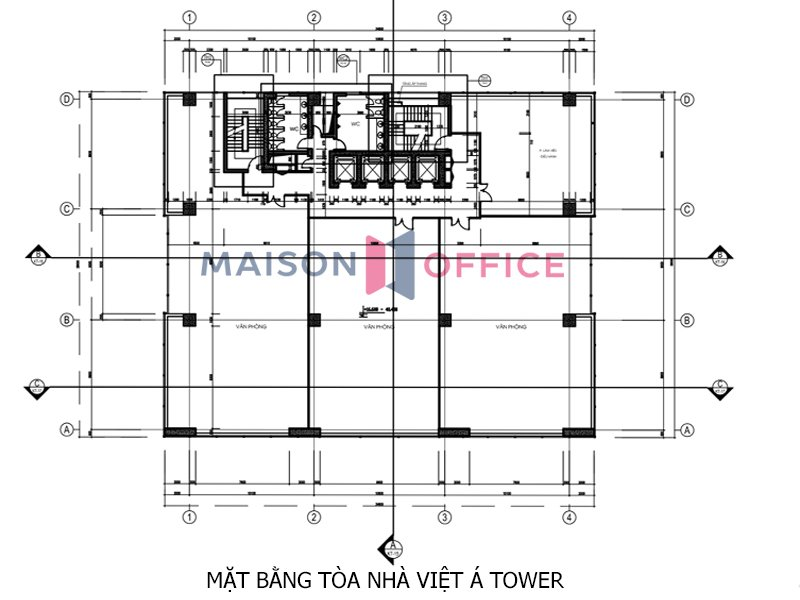 Viet A Tower floor layout