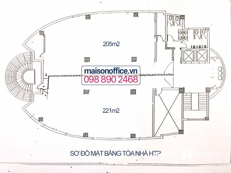 htp building layout