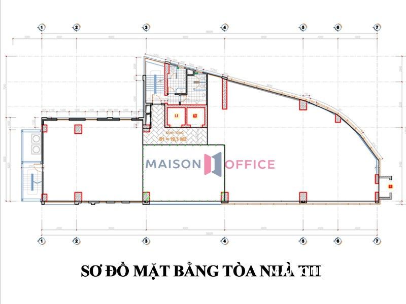Office layout TID Centre