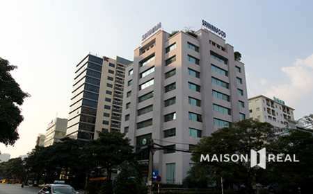 Tòa nhà văn phòng Sannam-Duy tân, cầu giấy