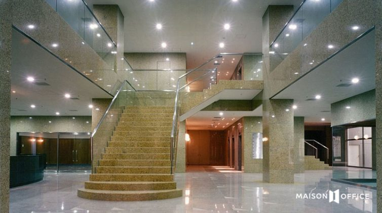 sảnh hành lang tại tòa nhà Mặt Trời Sông Hồng