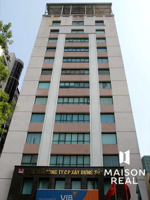 Tòa nhà CTCP Xây dựng số 1 HN Quang Trung, quận Hai Bà Trưng