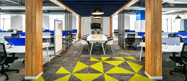 thiết kế nội thất văn phòng của Traveloka 3