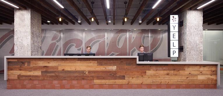 thiết kế nội thất văn phòng của Yelp 2