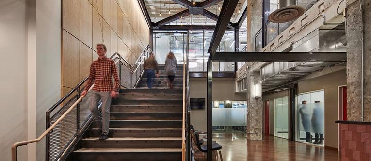 thiết kế nội thất văn phòng của Yelp 3