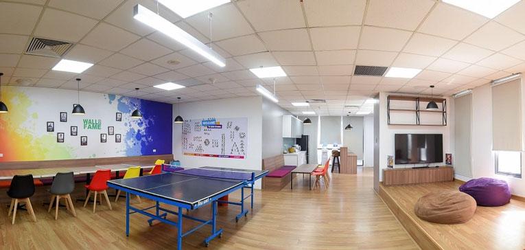 thiết kế nội thất văn phòng GameLoft 6
