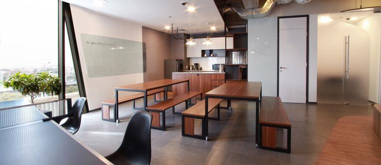 thiết kế nội thất văn phòng Inspectorio 2