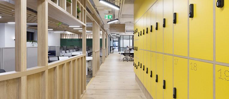 thiết kế nội thất văn phòng Microsoft 6