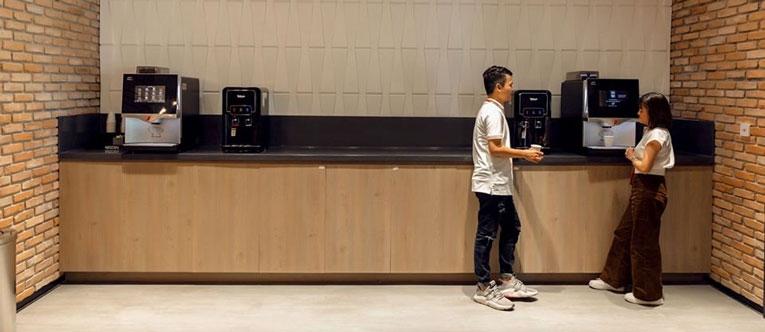 thiết kế nội thất văn phòng Vinagame VNG Campus 12