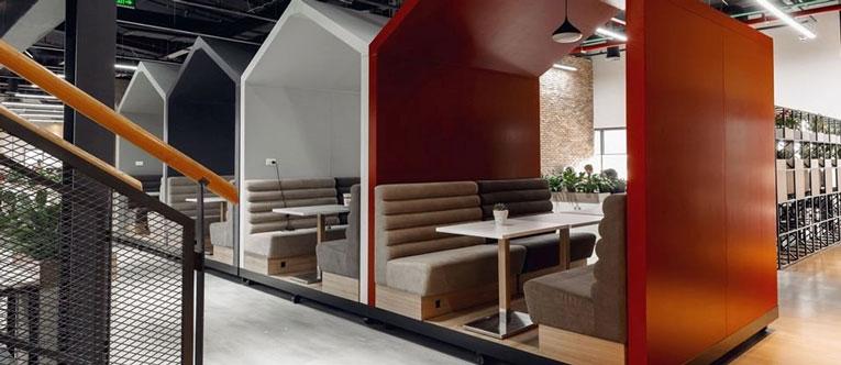 thiết kế nội thất văn phòng Vinagame VNG Campus 17