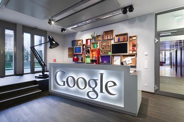văn phòng của Google Dusseldorf 1