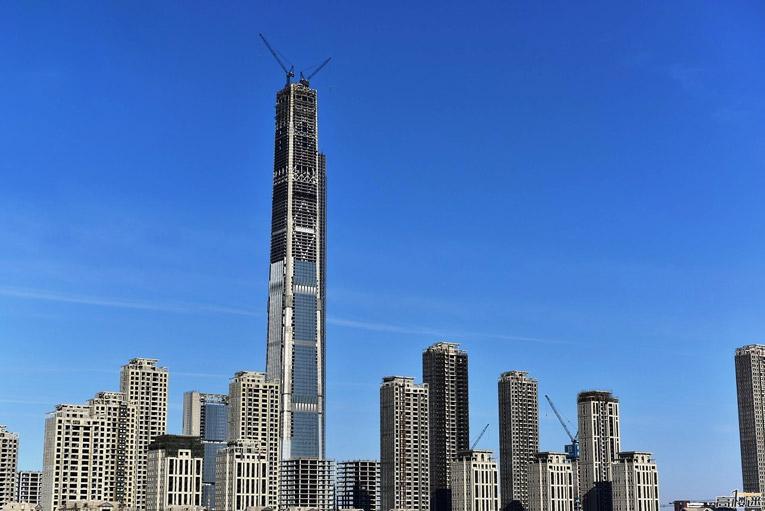 tòa nhà cao thứ 5 thế giới Goldin Finance 117
