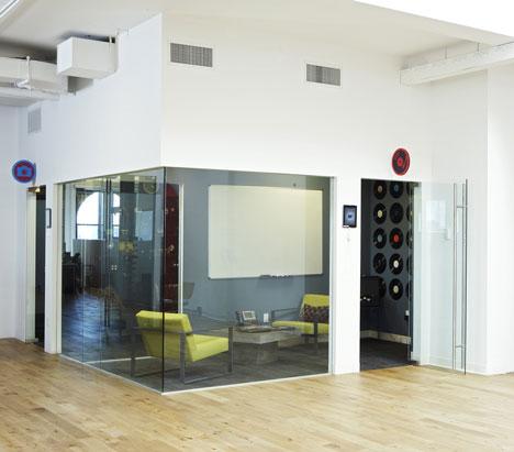 văn phòng startup Foursquare 1