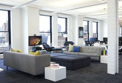 văn phòng startup Foursquare 2