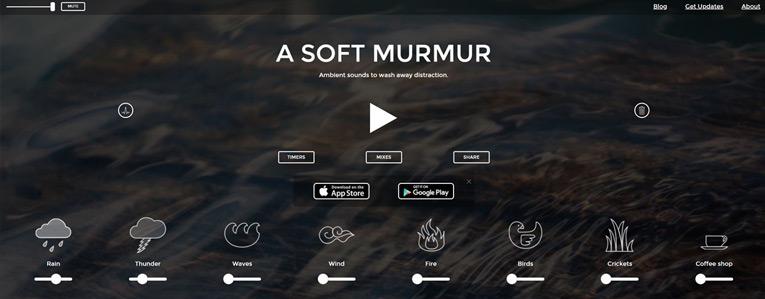 website giảm stress A Soft Murmur