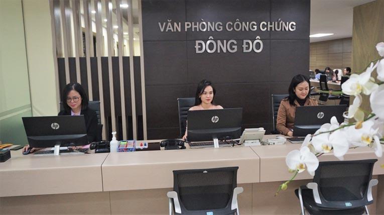 văn phòng công chứng Đông Đô
